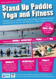 Poster surf yoga